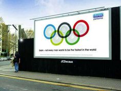 Not sure this is within the Olympics brand guidelines but it is certainly topical. Twitter / TaylorHerringPR: Durex post a message for U ...