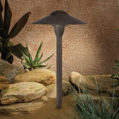 Kichler Dome Path Light-Architectural Bronze - 15410AZT