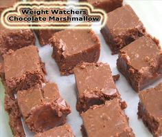 Weight Watchers Chocolate Marshmallow Fudge