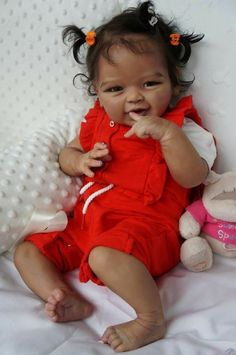 "Baby Phoenix by Аndrea "",Artist Tsybina Natalia ""Sweet bun"" Baby Dolls For Sale, Cute Baby Dolls, Newborn Baby Dolls, Cute Babies, Reborn Toddler, Reborn Baby Girl, Toddler Dolls, Black Baby Dolls, Fake Baby"