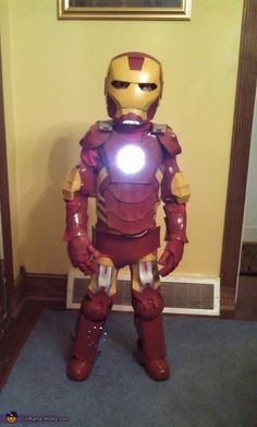 Ironman - Homemade costumes for boys
