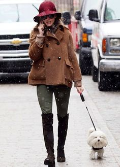 Olivia Palermo Winter Chic Outfit