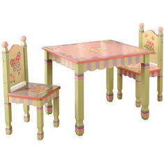 Magic Garden Table & Chairs Set