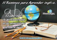 #3 saber inglés te permite estudiar en las universidades de todo el mundo