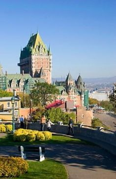 Quebec City, Upper City Sightseeing from the Chateau Frontenac