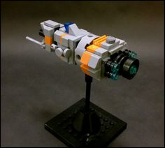 https://flic.kr/p/sXB5aN | Orion-class Cruiser | A fast-attack cruiser with a large primary beam weapon and two anti-ship cannons.