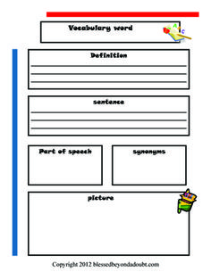 Super FUN ways to teach vocabulary to your children! And FREE Vocabulary Notebook printable! Vocabulary Notebook, Teaching Vocabulary, Vocabulary Worksheets, Teaching Language Arts, Vocabulary Words, Teaching Reading, Speech And Language, Vocabulary Ideas, Reading Activities