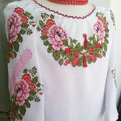 Floral Tops, Women, Fashion, Cross Stitch Pictures, Dots, Moda, Top Flowers, Fashion Styles, Fashion Illustrations