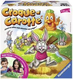 Croque Carotte N E - Jeux de société et stratégie - JEUX, JOUETS - Renaud-Bray.com - Livres + cadeaux + jeux