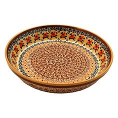 Polish Pottery Pie Plate