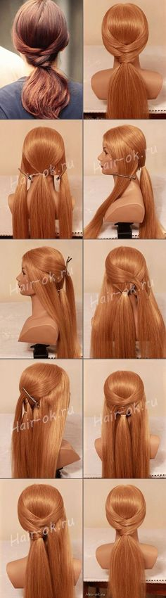 How to DIY Easy Gossip Girl Hairstyle. Love this hairdo! Gossip Girl Hairstyles, Pretty Hairstyles, Easy Hairstyles, Great Hair, Hair Day, Gorgeous Hair, Hair Designs, Hair Looks, Hair Inspiration
