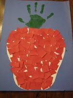 Kids hand/foot print crafts