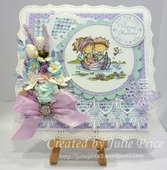 Marianne Designs 3DHM 0060 Romantic Snoesjes and LR0278 Petras Fence https://julieprice3.wordpress.com/2015/01/13/wishing-you-happiness-4/