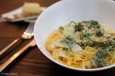 Schnipp & Schlemm: Pasta mit Fenchel, Rucola und Zitrone