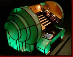 Art Deco Organ, Odeon Theatre, Leicester Square, London