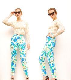 Floral Bongo jeans.  So flattering.