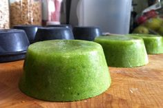 DIY Worth a Try: Detox Green Juice Smoothie Cups | Shoestring