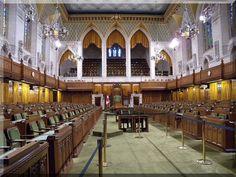 Parliament - The Commons Chamber - Ottawa