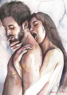 Art Challenge, Saatchi Art, Original Paintings, Watercolor, Illustration, Pen And Wash, Watercolor Painting, Watercolour, Illustrations