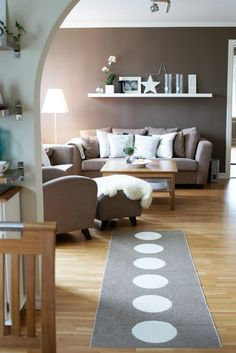 whimsical living room . the color is gorgeous