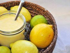 Cukormentes citromkrém Lemon Curd, Stevia, Plum, Cake Recipes, Recipies, Sweets, Baking, Fruit, Ethnic Recipes