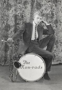 David Bowie, age 16