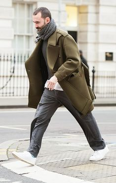 Khaki is a must for an autumn wardrobe http://www.accentclothing.com/