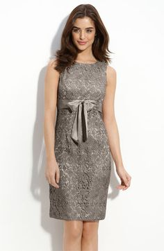 JS Collections Lace Sheath Dress