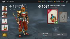 This is the photo of shadow fight 3 where i have completed the set of monkey king by completing the new event lunar festival Lunar Festival, Monkey King, Unique Cards, American, Movie Posters, Check, Calm, Toys, Summer