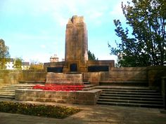 WW1 Memorial in Dunfermline. My Dunfermline photo tour: http://www.europealacarte.co.uk/blog/2012/05/10/dunfermline-scotland/