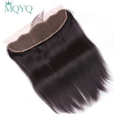 Cheap Closures, Buy Directly from China Suppliers:Allrun Brazilian Straight Hair 2 Pcs Lace Frontal Closure non Remy Human Hair Lace Frontal Inch Natural Color Human Hair Color, Remy Human Hair, Remy Hair, Human Hair Extensions, Kinky Curly Hair, Curly Hair Styles, Weave Hairstyles, Straight Hairstyles, Hair Quality