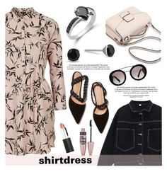 """It's a Shirt! It's a Dress! It's a Shirtdress!"" by blossom-jewels ❤ liked on Polyvore featuring Topshop, Chicnova Fashion, Ulla Johnson, Prada, Sigma Beauty, Maybelline, shirtdress, contestentry and Blossomjewels"