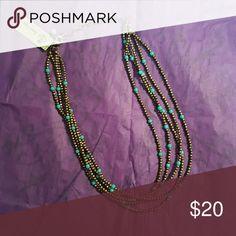 St. Tropez necklace Premier designs St. Tropez necklace. 5 beaded strands Premier Designs Jewelry Necklaces
