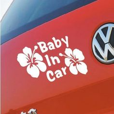 Find More Stickers Information about 10pcs/lot Wholesale Free shipping Car Sticker BABY IN CAR Baby Safety Sign Sticker Graphic Flower BABY IN CAR Sticker Decal,High Quality Stickers from Love's Shop on Aliexpress.com Baby Safety, Car Stickers, Baby Car, Decals, Free Shipping, Signs, Shop, Flowers, Sticker
