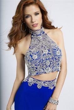 Halter Prom DresseS Beaded Prom Dresses Royal Blue Prom Dresses Chiffon Prom Dresses Mermaid Prom Dresses Prom Dresses