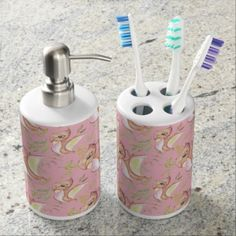 Watercolor Png Dinosaur Hand Drawn Illustration Soap Dispenser And Toothbrush Holder - pattern sample design template diy cyo customize