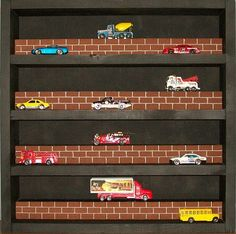 Display Case for MATCHBOX Cars / HOTWHEELS / DIECAST  - Perfect for collectors via Etsy