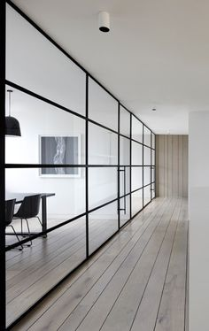 otis & frank: Steel-framed glass doors