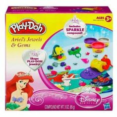 Play-Doh Ariel's Jewels & Gems Sparkle Jewelry by Hasbro. $18.76. by Hasbro