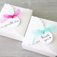 10 x favor elegante pastel de boda de cajas cajas de regalo