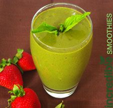 Strawberry-Banana Green Smoothie with Basil and Hazelnut Recipe on Yummly