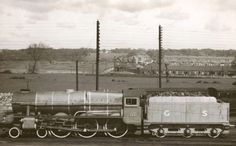 "Train passing ""The Ranch"" before Ballyfermot was built. Probably late 1930s."