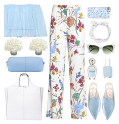 """""""Feeling Good!"""" by misshonee ❤ liked on Polyvore featuring Diane Von Furstenberg, Nicholas Kirkwood, Marc Jacobs, Poupette St Barth, Casetify, Victoria Beckham, Essie and KC Jagger"""
