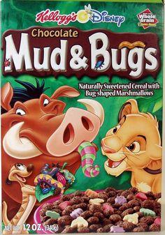 Kellogg's Chocolate Mud & Bugs Cereal