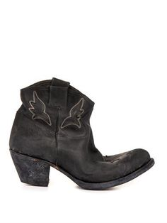 Sydney distressed-leather ankle boots | Golden Goose Deluxe Br...
