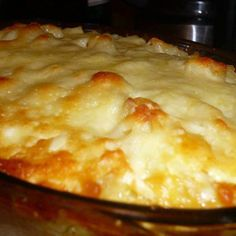 Momma's Creamy Baked Macaroni and Cheese http://www.justapinch.com/recipes/main-course/main-course-pasta/mommas-creamy-baked-macaroni-and-cheese.html