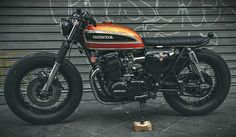 CB750 by Recar Motos   Inazuma café racer