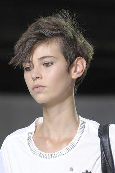 Amra Cerkezovic - Phillip Lim @ New York Fashion Week Spring 2013