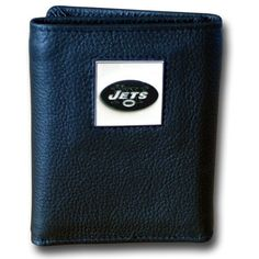 NFL New York Jets Genuine Leather Tri-fold Wallet by Siskiyou. $19.83. NFL  Genuine Leather Tri-fold Wallet