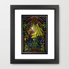 Sage of Time Framed Art Print by Joshua A. Biron - $35.00